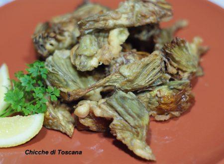 Carciofi fritti alla Toscana