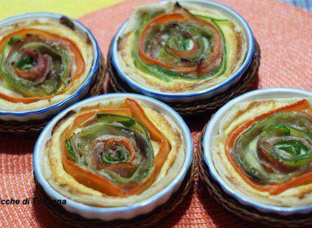 Tortini in sfoglia con verdure