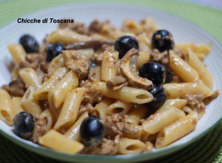 Pasta alla boscaiola ricetta Toscana