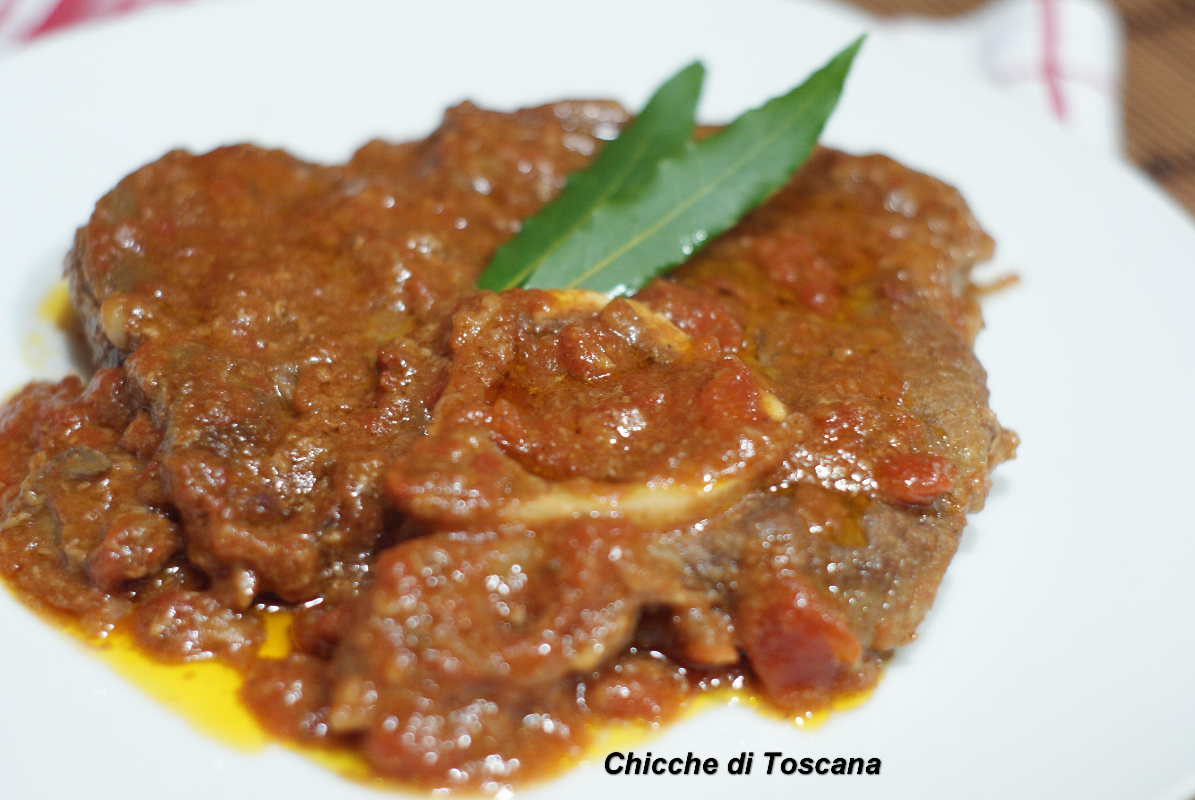 Ricetta Ossobuco Toscana.Ossibuchi Alla Toscana