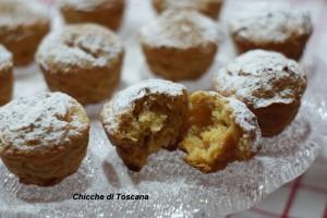 Muffin dolci con scarti estrattore