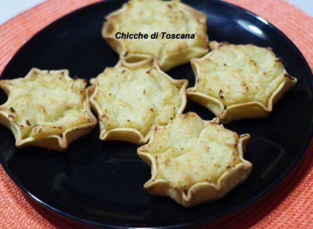Tartellette con patate e cavolfiore
