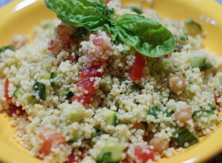 Cous cous freddo con verdure