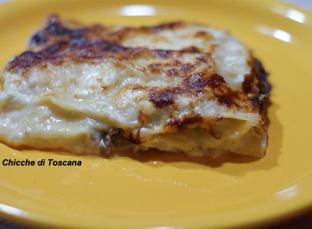 Lasagne salsiccia e stracchino