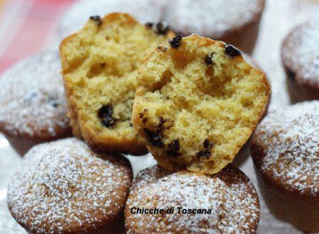 Muffin soffici con farina di quinoa (senza glutine)