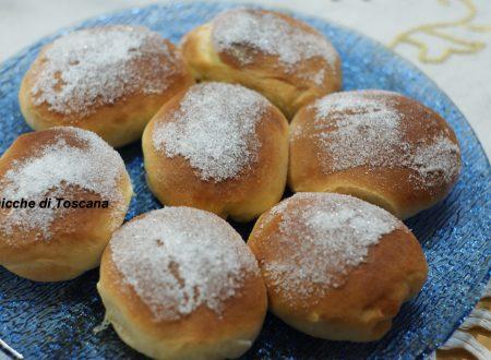 Panini dolci per colazione e merenda