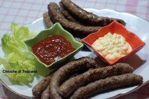 Bastoncini (polpette) di carne speziati