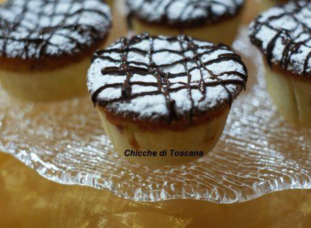 Tortine ciocco cocco con ricotta