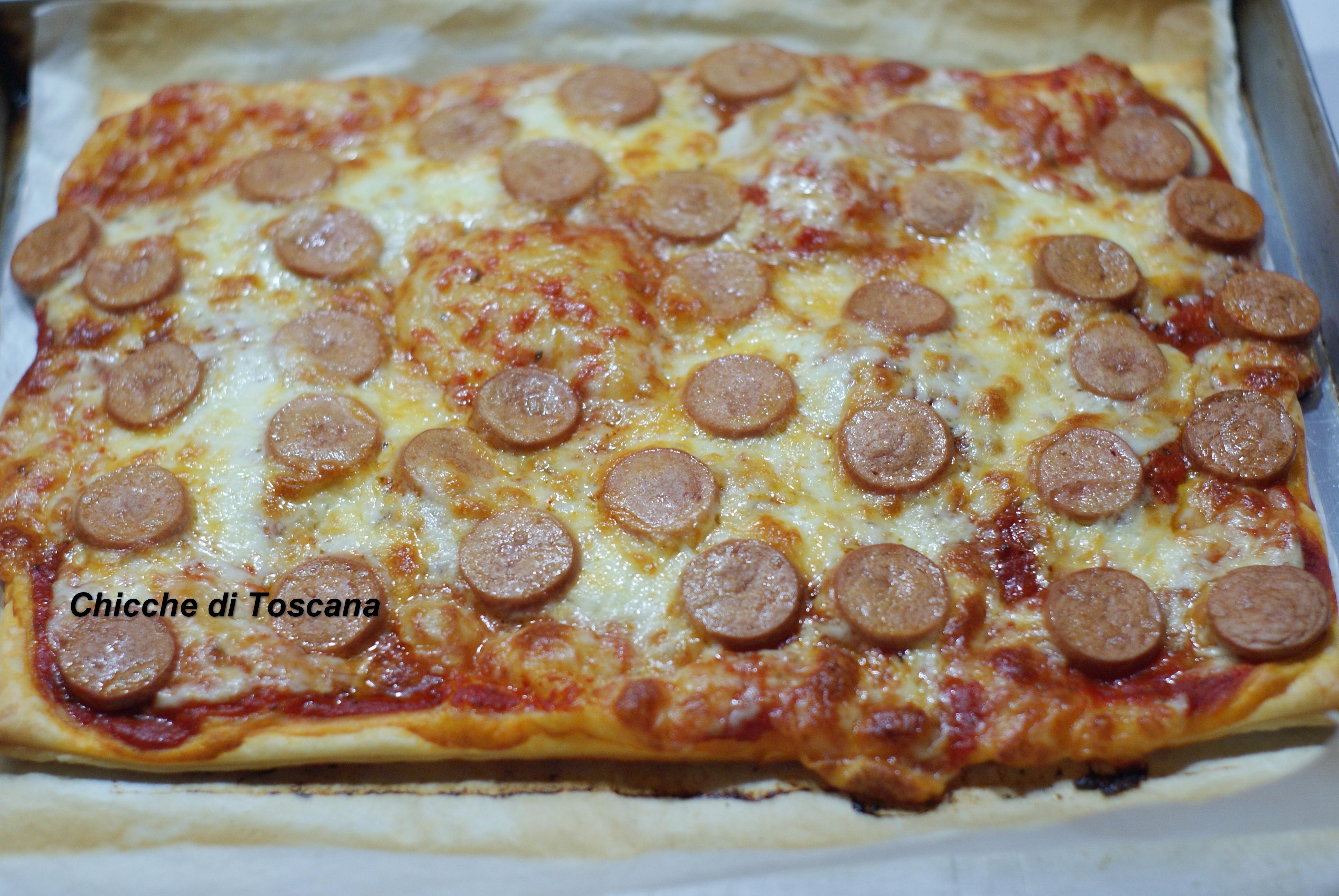 Preferenza Pizza di pasta sfoglia super veloce | Chicche di Toscana QV29