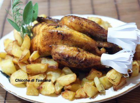Pollo arrosto croccante e succoso