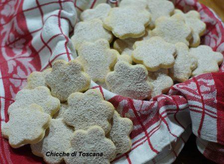 Biscotti frollini con farina di riso