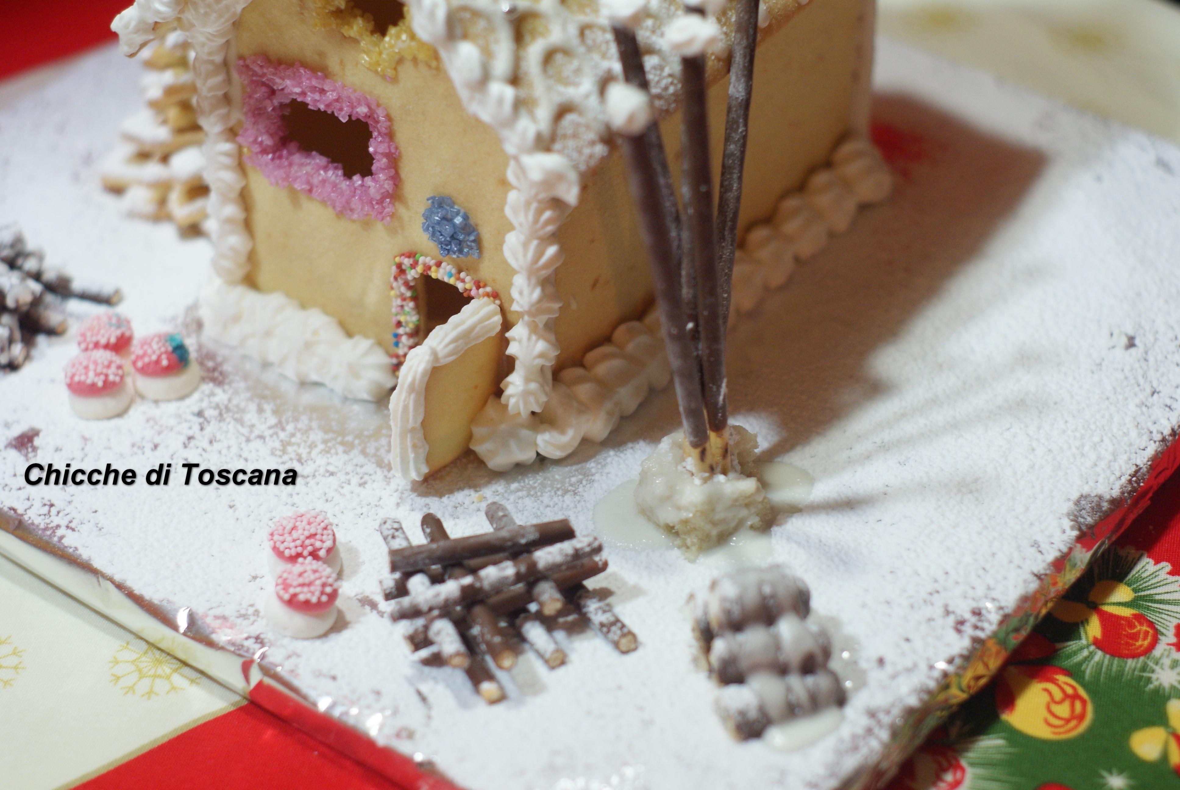 Casetta Di Natale Con Pasta Frolla : La dolce casetta di natale in pasta frolla
