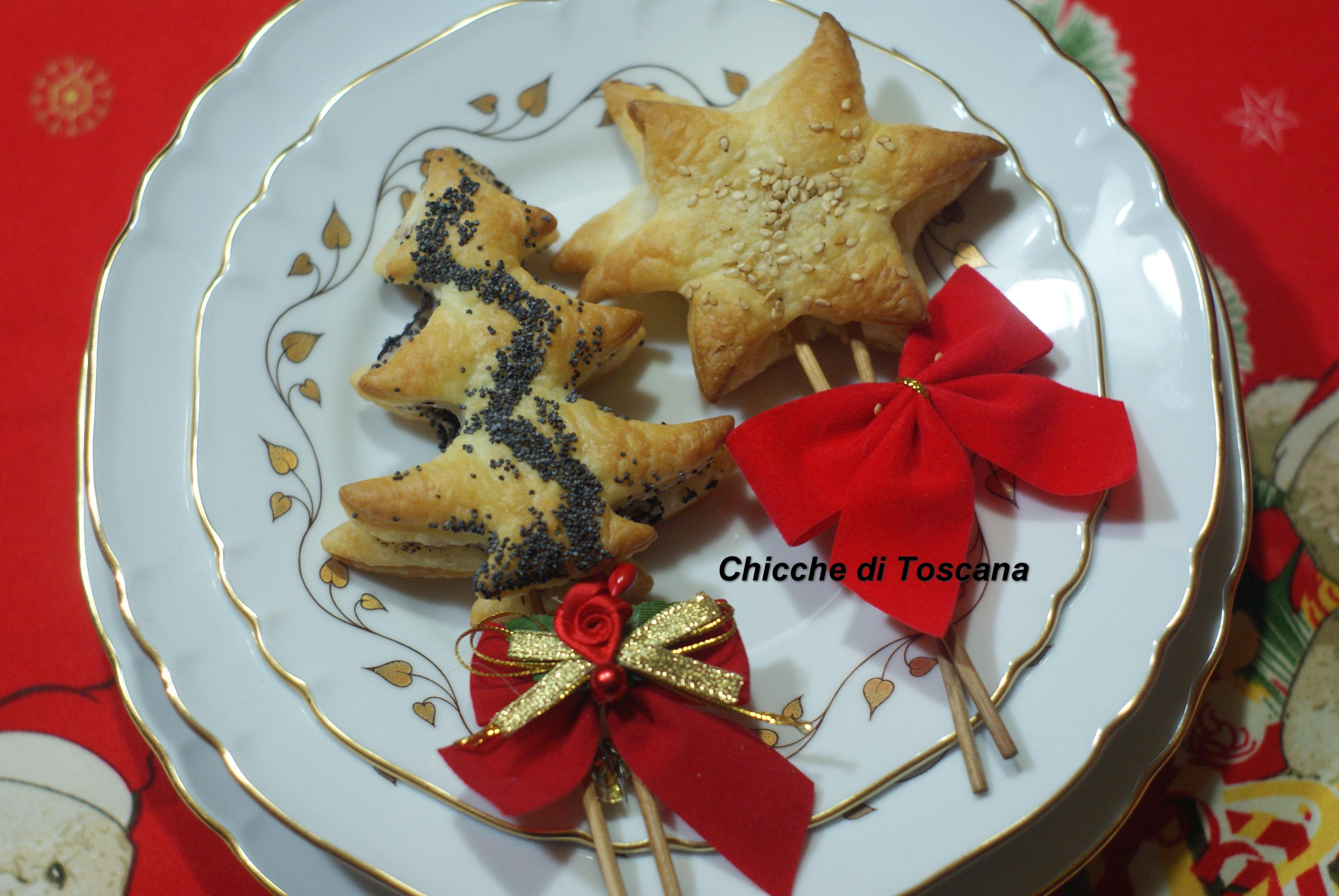 Antipasti Di Natale Toscani.Antipasto Segnaposto Natale Di Pasta Sfoglia