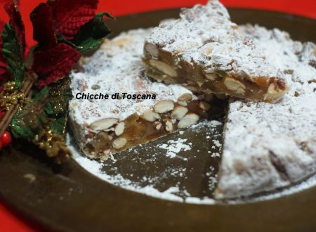 Panforte ricetta tipica Toscana