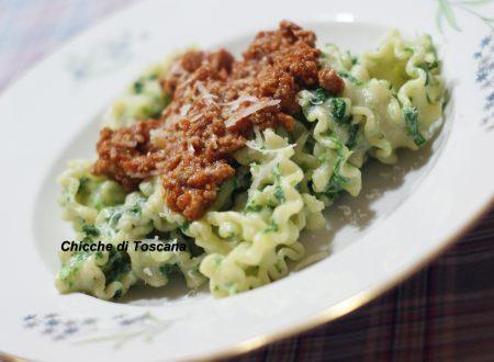 Pasta intordellata ricetta Toscana