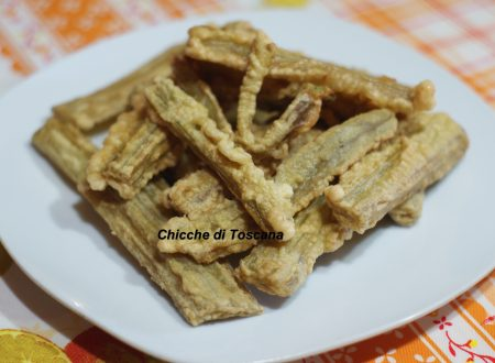 Cardi fritti alla Toscana
