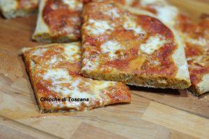 Pizza margherita multicereali