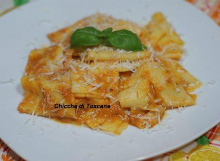 Maccheroni Toscani con pomarola Toscana