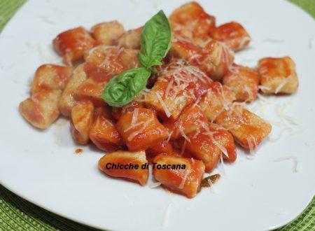Gnocchi di pane al pomodoro di Sicilia