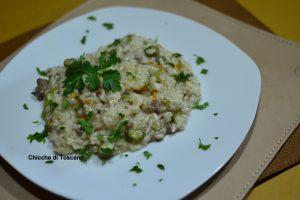 Risotto con zucchine e carne macinata