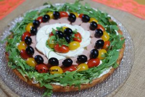 Crostata salata con base morbida